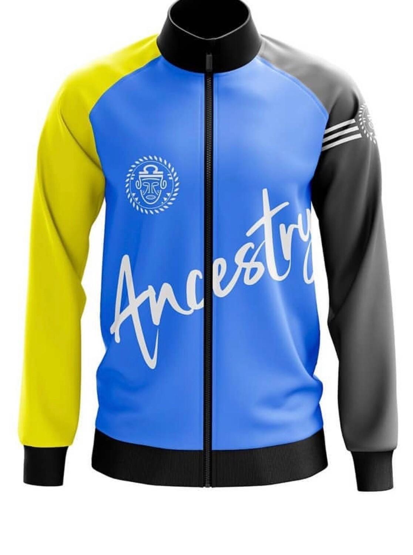 Ancestry - Yellow & Blue Jacket