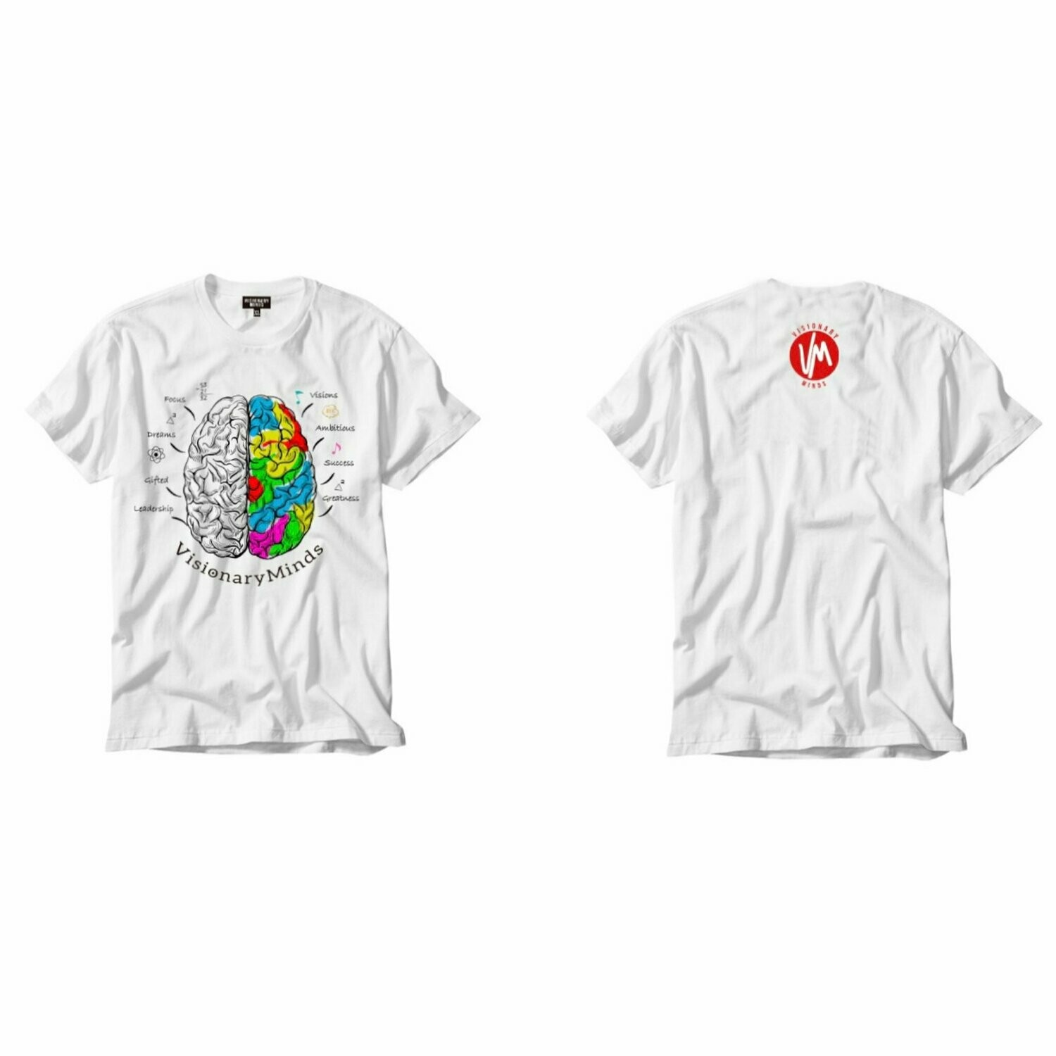 VM - White Brains Tee