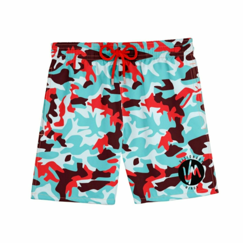 VM - Colors Camo Shorts
