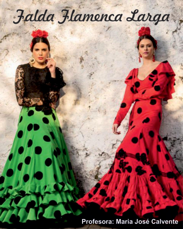 bajo precio c2954 b05ef Falda Flamenca Larga