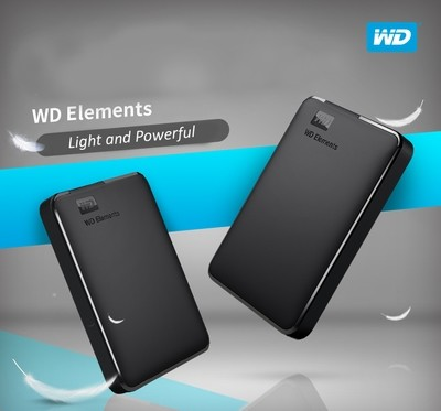 HDD WD USB 3.0 Storage Device Speed File Transfer (1 - 4TB)