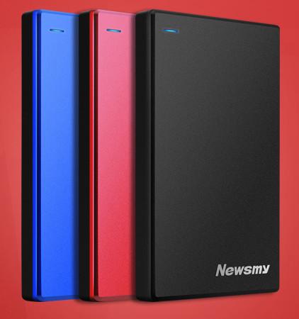 HDD Newsmy USB 3.0 Portable Storage Device - Black (1/2TB)