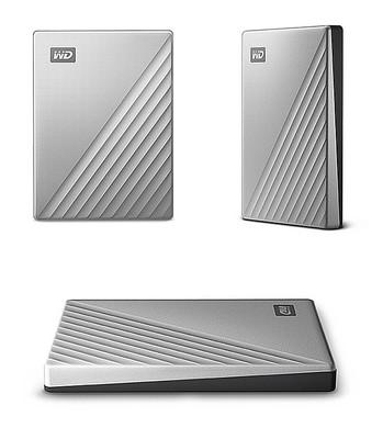 WD HDD Type-C My Passport Ultra Speed 1TB/2TB/4TB