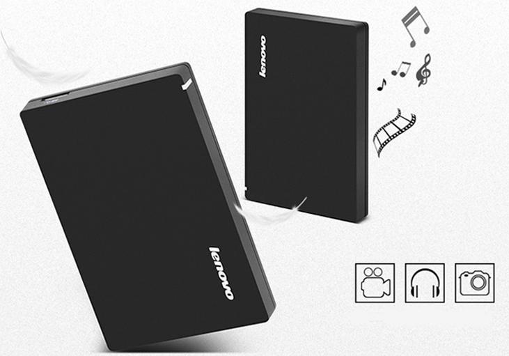 Lenovo Portable HDD F308 1TB/2TB/4TB USB3.0