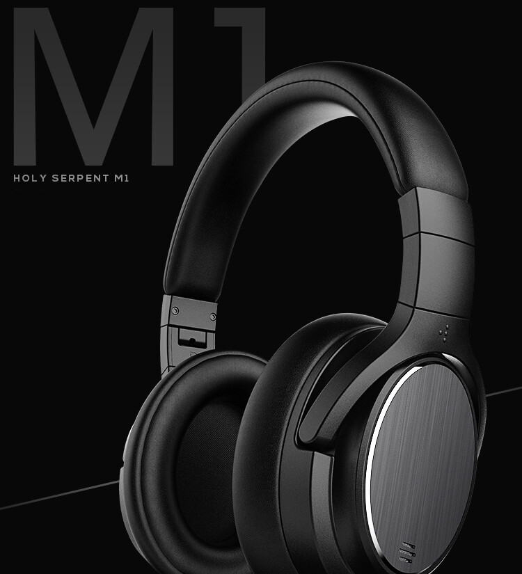 Holy Serpent M1 ANC Bluetooth Headset 4.1 Active Noise Cancelling Headphones
