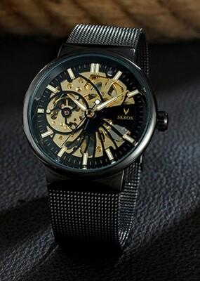 Skrox Watch Steel Gears Style Edition