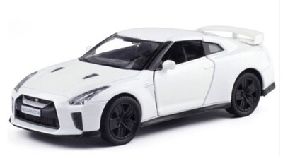 Car Mini Model Collection Toy Nissan GTR R35