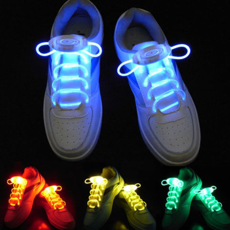 LED Shoe Laces  Glow laces  shoestrings dance performance