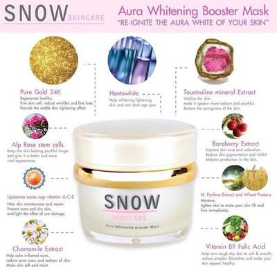 Snow Aura Mask ❄️