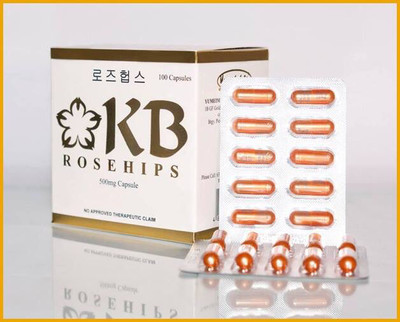 KB Rosehips Vitamin c 100 capsules