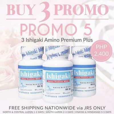 Ishigaki Amino Premium White 30 Capsules