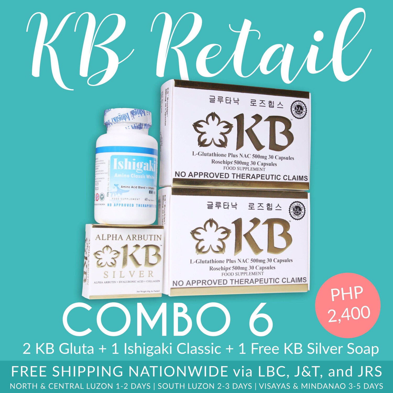 KB Combo #6 (KB Gluta NAC)