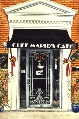 Chef Marios Cafe Print - MAS017