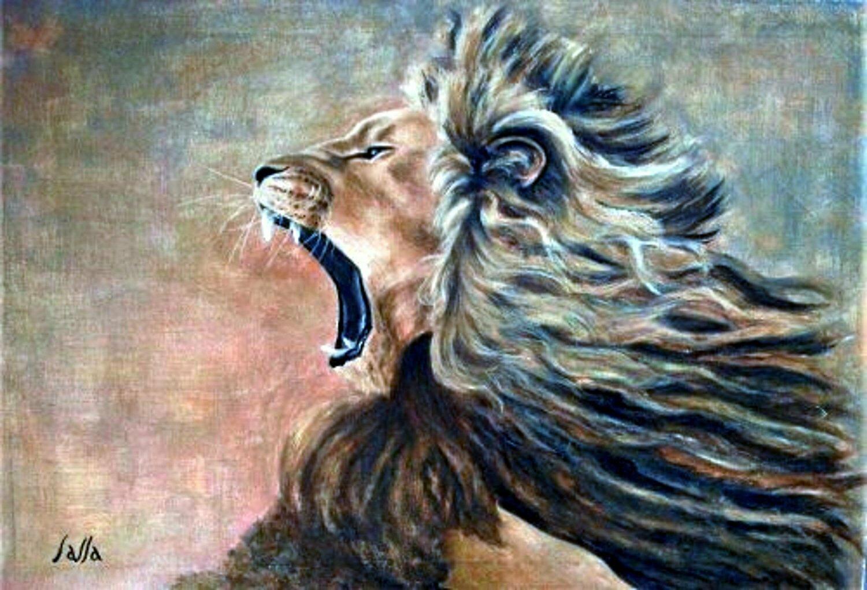 Leo's Roar card - CRL019