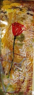 Red Rose Print - EB039
