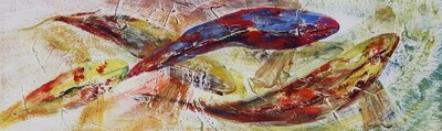 Gold Fish Print - EB038