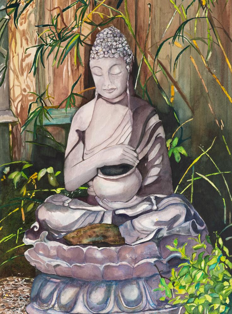 Garden Budda - LW015