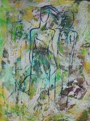 Between Green Lines Print On Sale - EB016