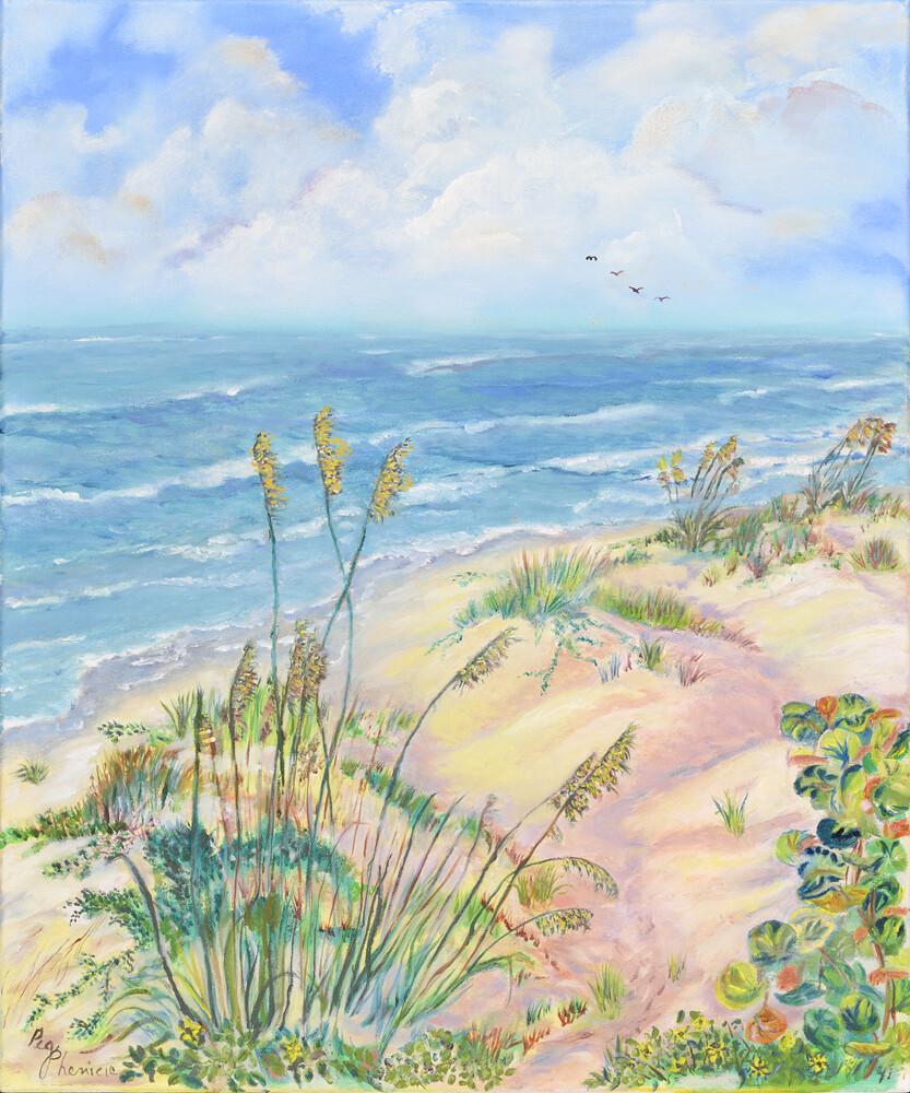 Beach Side Giclee 16 X 20 - PEG008-2