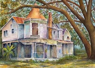 Green Gables Calendar Painting - CSM052