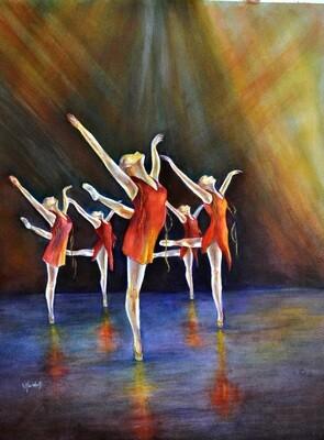 The Ballet Print - CSM018