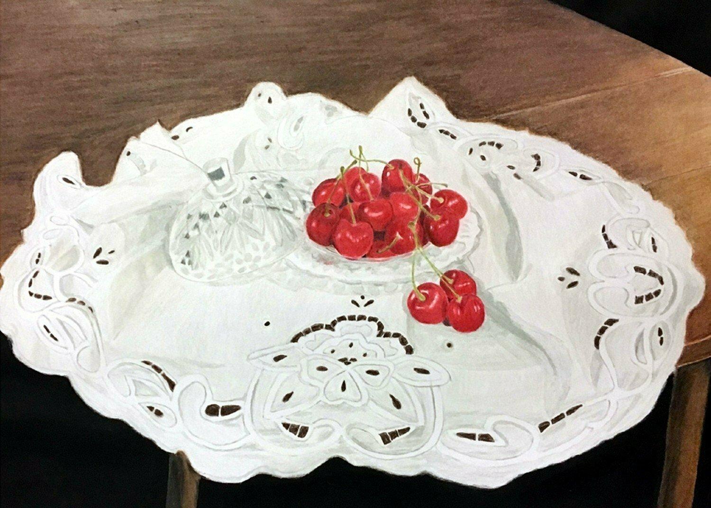 Heirlooms and Cherries Card - CAJ046