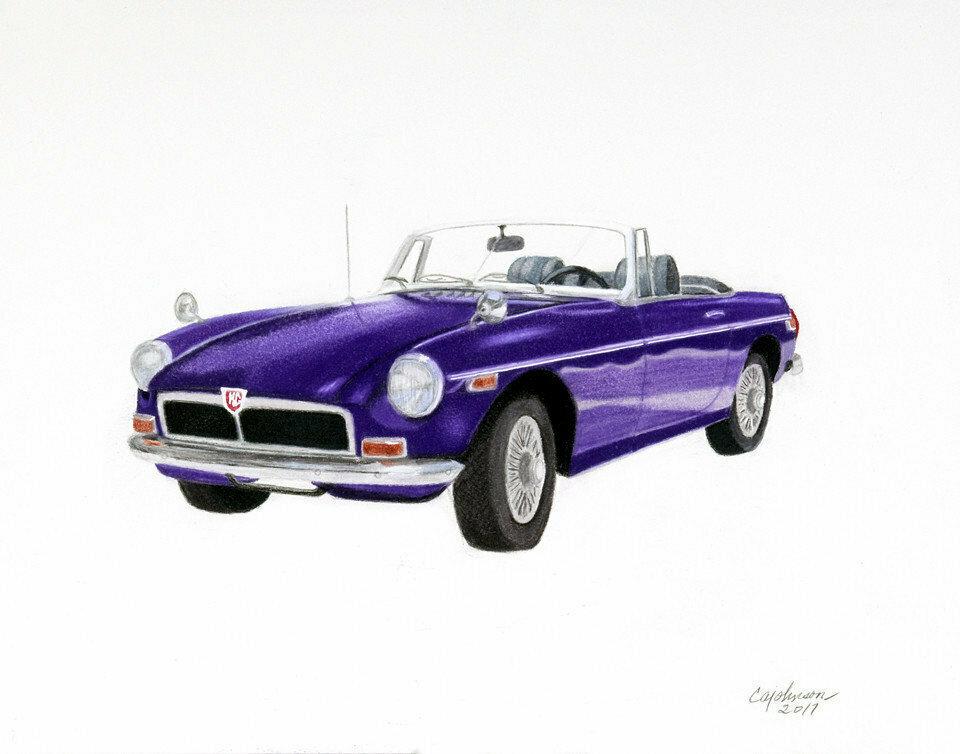1974 Classic MGB - CAJ012