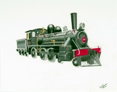 Early Locomotive - CAJ013
