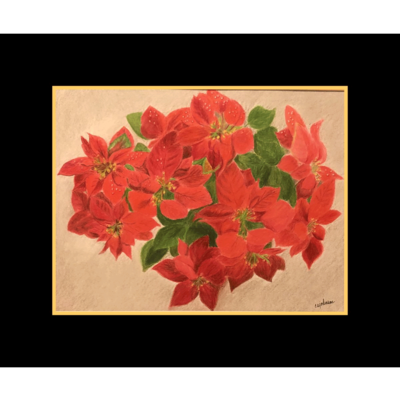 Poinsettias - CAJ109