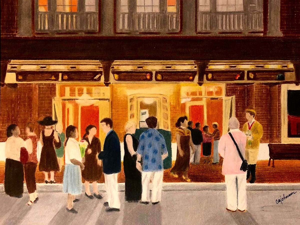 Cocoa Village Playhouse Print - CAJ098
