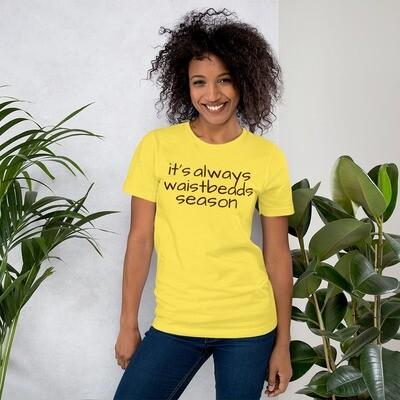 it's always waistbeads season - yellow