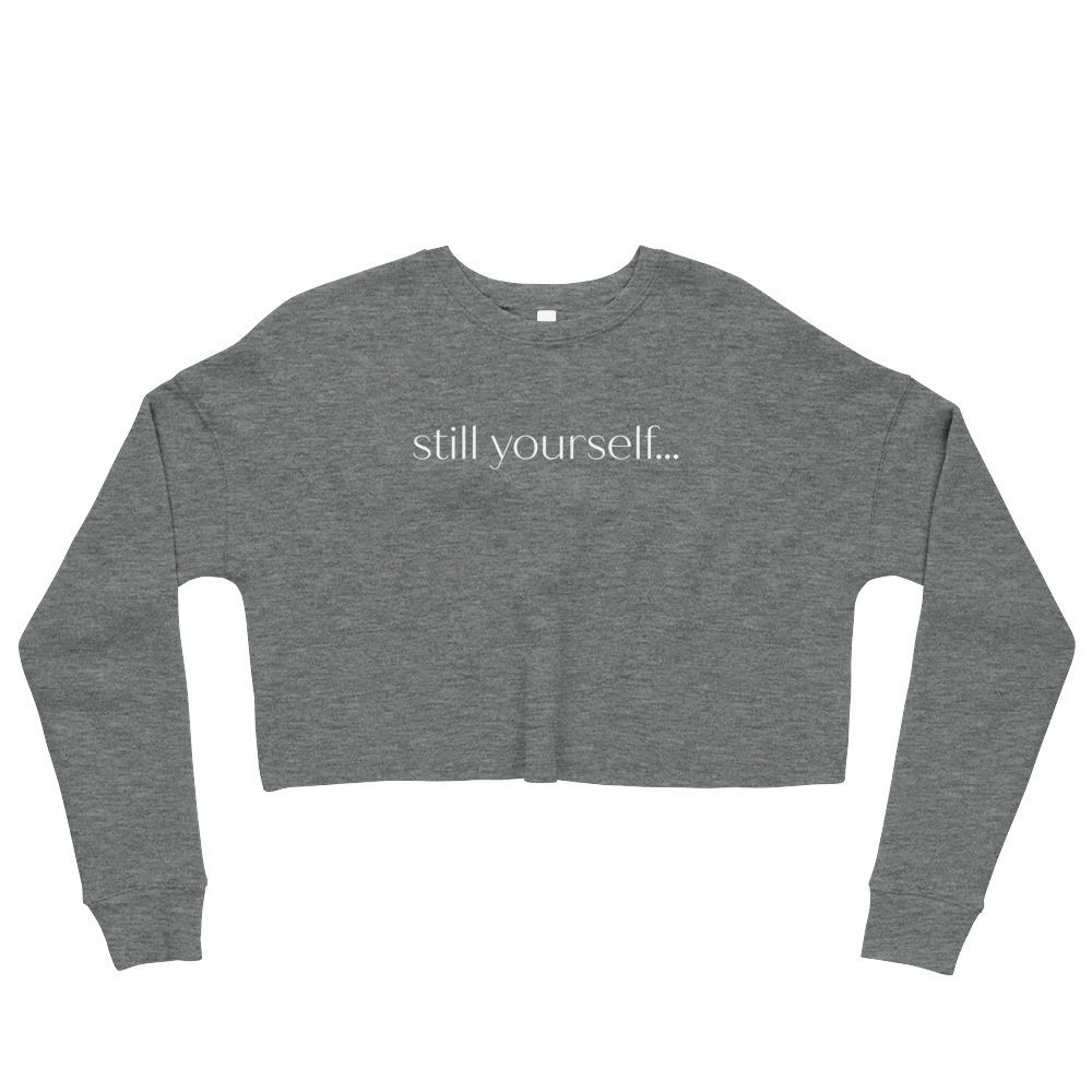 still yourself... No.3 | Crop Sweatshirt