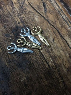 Fertility Charm - Brass