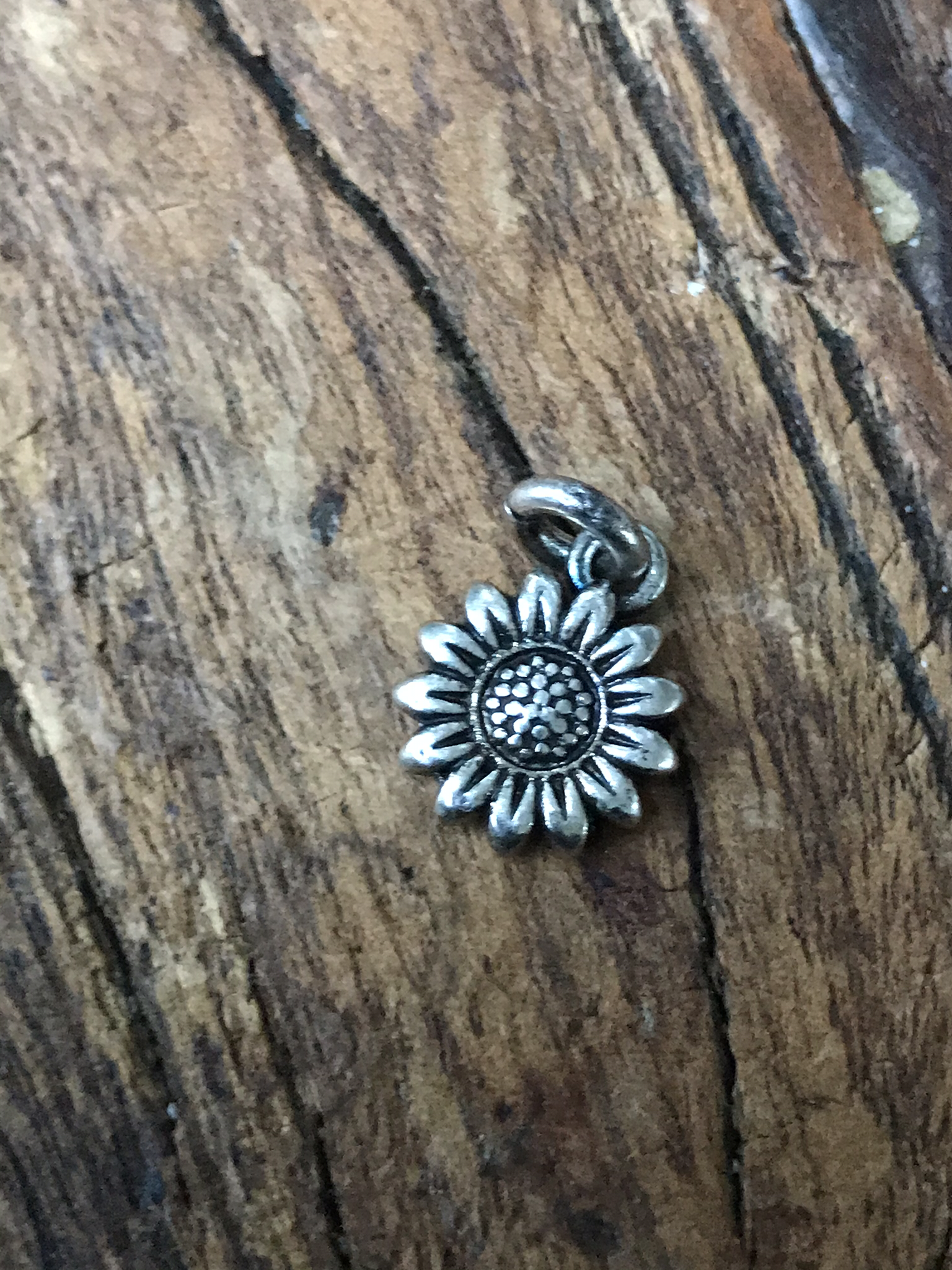 Silver Plated Sunflower 00110