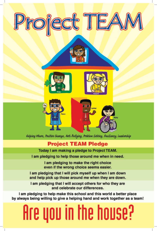 Elementary School Pledge Posters