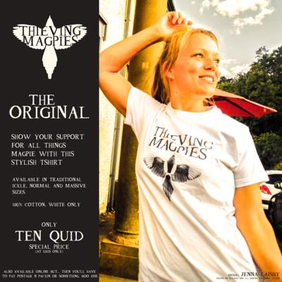 Thieving Magpies T Shirt (SMALL)