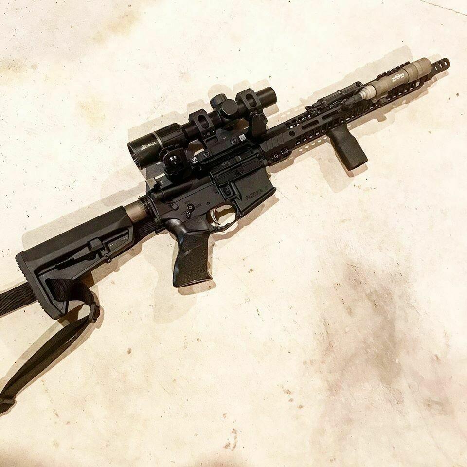 "AR15 RIFLE MATCH GRADE - 14.5"" BARREL"