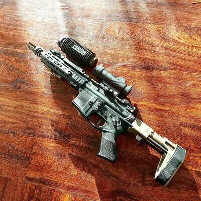AR 15 PISTOL MATCH GRADE - 8