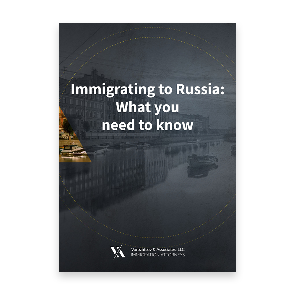 Immigrating to Russia: What you need to know B6/2