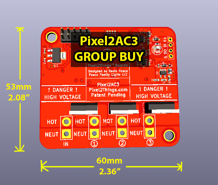 3 AC Outputs / Fully Assembled [GROUP BUY]