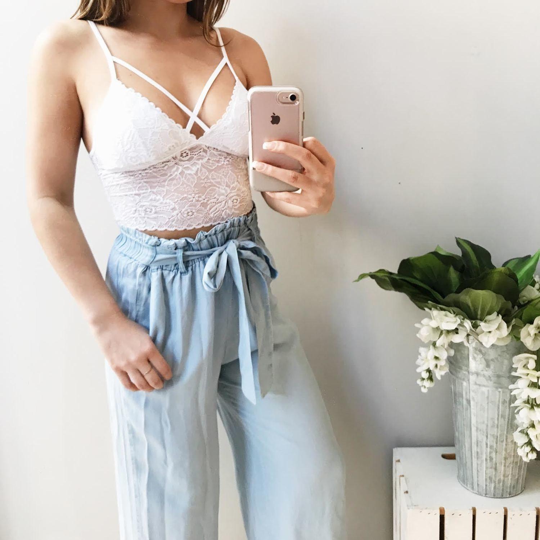 Baja Tencel Paperbag Pants