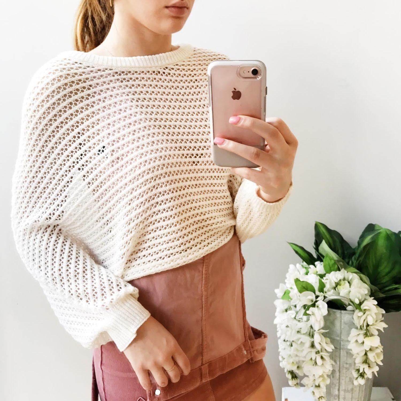 Isabelle Knit Dolman Sweater