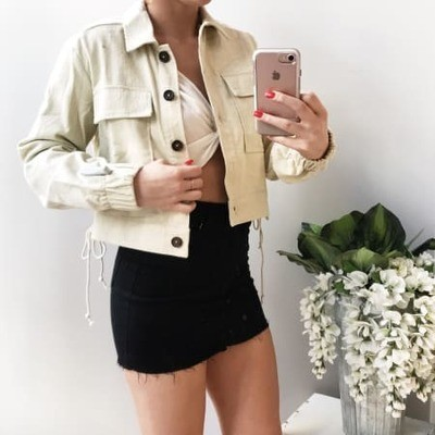 Brit Button Up Jacket