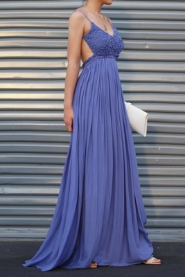 Cynthia Open Back Maxi Dress