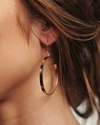Katrina Dangle Hoop Earrings