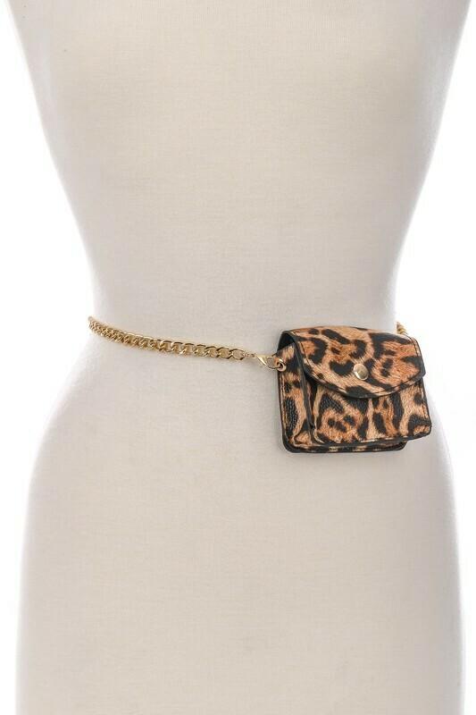 Mini Simple Chain Belt