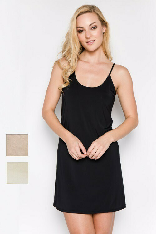Mid-Length Slip Dress
