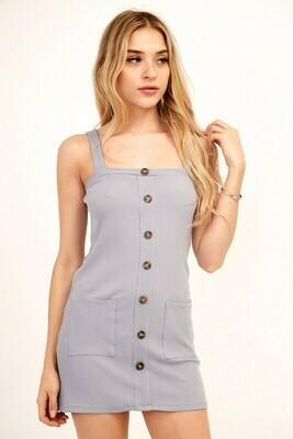 Giselle Ribbed Tank Dress