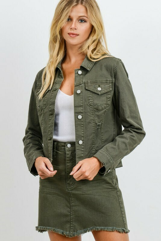 Serena Colored Jacket