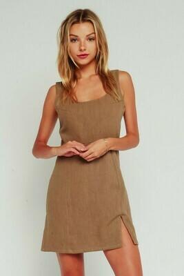 Leg Slit Tank Dress